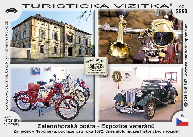 Zelenohorská pošta - Expozice veteránů