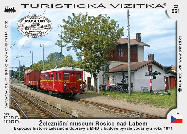 Železniční museum Rosice nad Labem