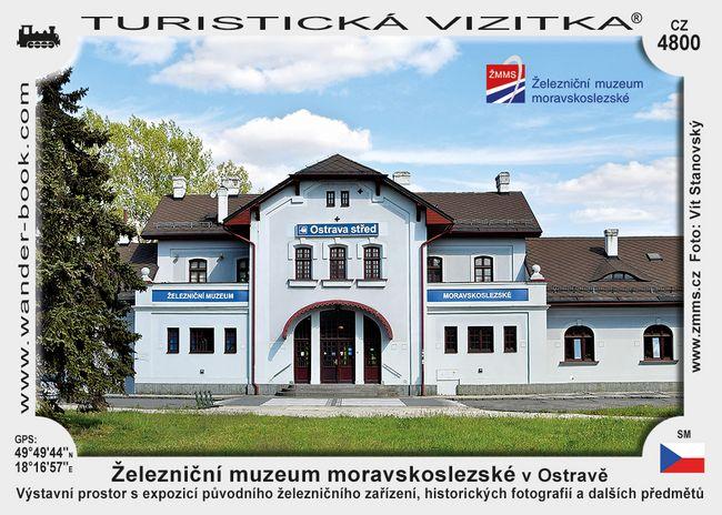 Železniční muzeum moravskoslezské v Ostravě