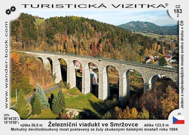Železniční viadukt ve Smržovce