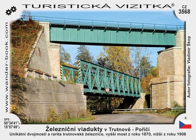 Železniční viadukty v Trutnově - Poříčí