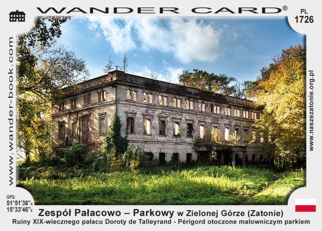 Zespół Pałacowo – Parkowy w Zielonej Górze Zatoniu