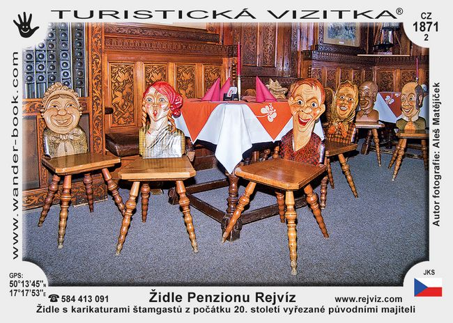 Židle Penzionu Rejvíz