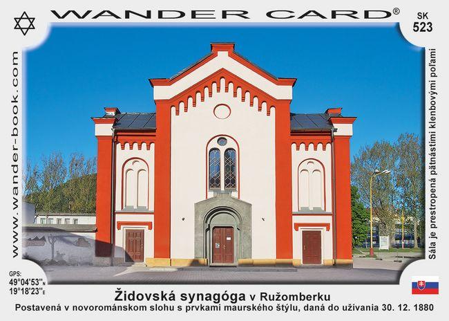 Židovská synagóga v Ružomberku