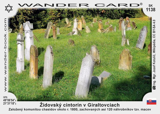 Židovský cintorín v Giraltovciach