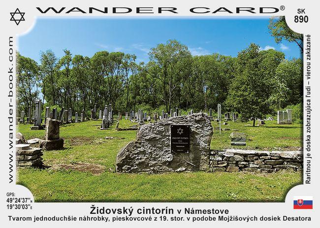 Židovský cintorín v Námestove