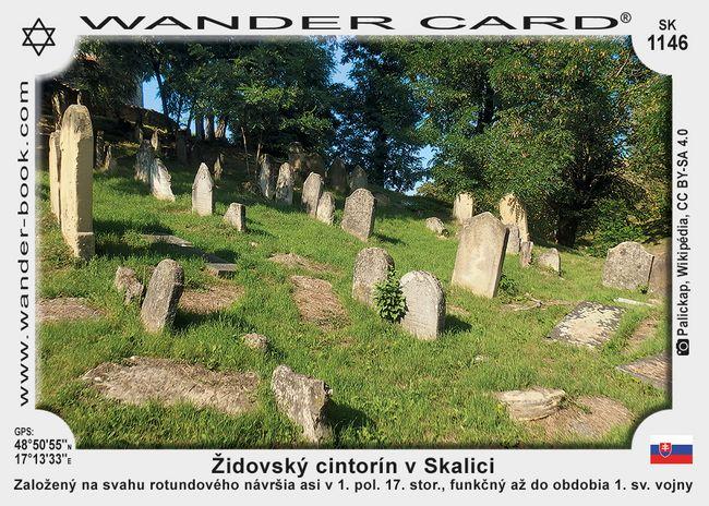 Židovský cintorín v Skalici