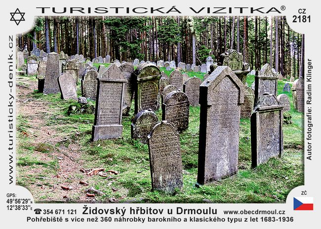Židovský hřbitov u Drmoulu