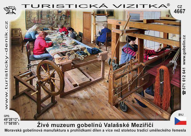 Živé muzeum gobelínů Valašské Meziříčí