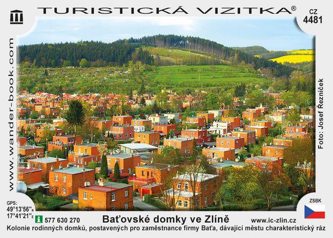 Zlín Baťovské domky