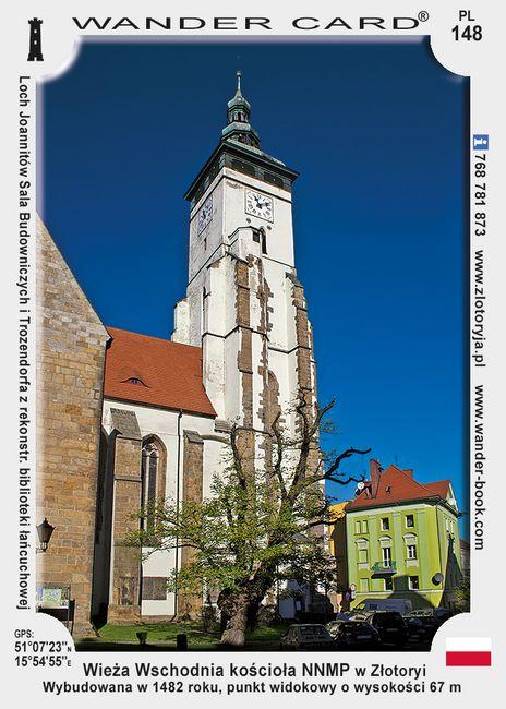 Złotoryja Wieża kościoła NNMP