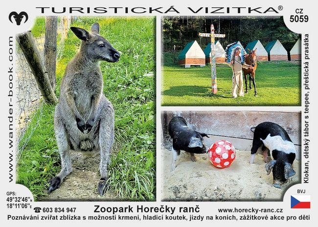 Zoopark Horečky ranč