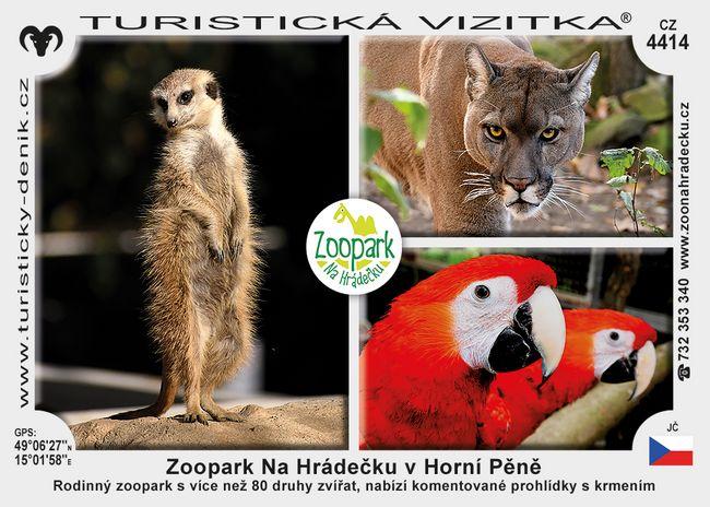 Zoo Na Hrádečku v Horní Pěně