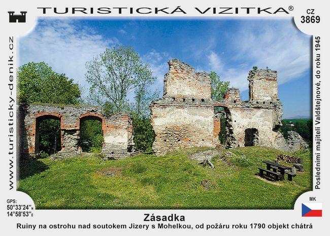 Zřícenina hradu Zásadka