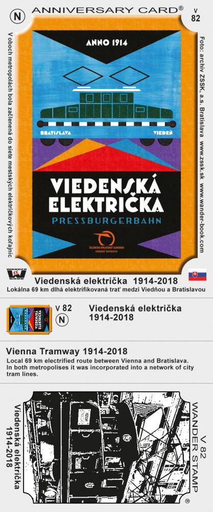 Viedenská električka  1914-2018