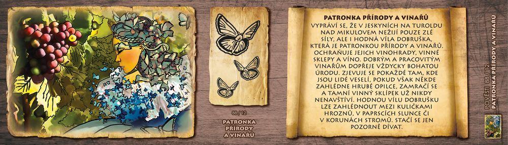 Patronka přírody a vinařů