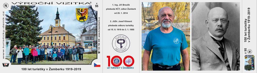 100 let turistiky v Žamberku 1919–2019