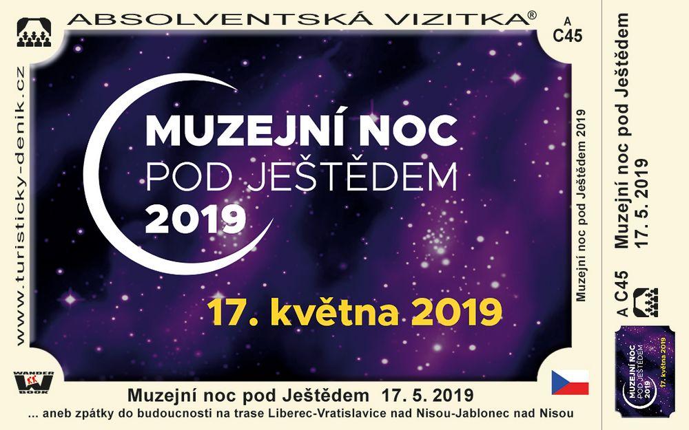 Muzejní noc pod Ještědem  17. 5. 2019
