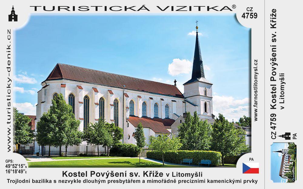Kostel Povýšení sv. Kříže v Litomyšli