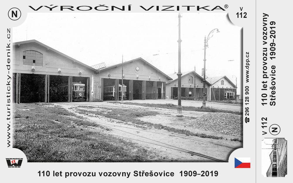 110 let provozu vozovny Střešovice  1909–2019