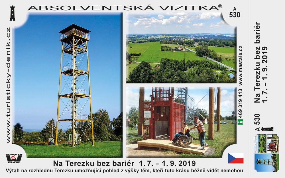Na Terezku bez bariér  1. 7. – 1. 9. 2019