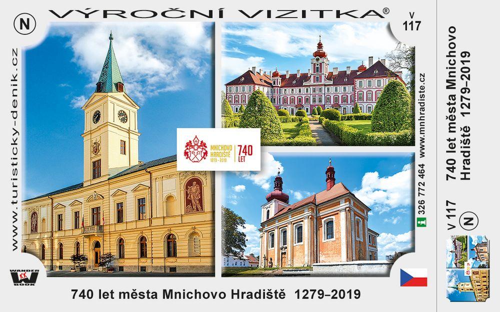 740 let města Mnichovo Hradiště  1279–2019
