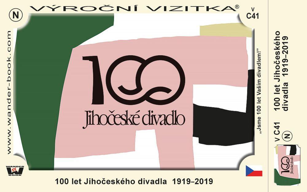 100 let Jihočeského divadla  1919–2019