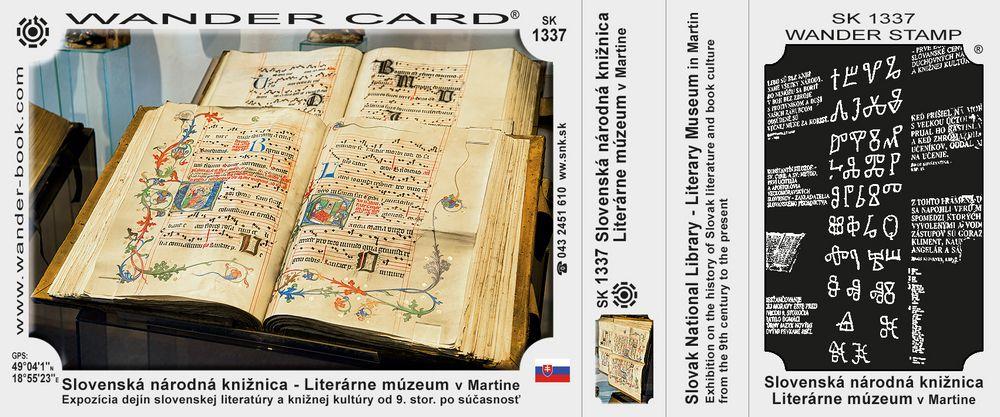 Slovenská národná knižnica - Literárne múzeum v Martine