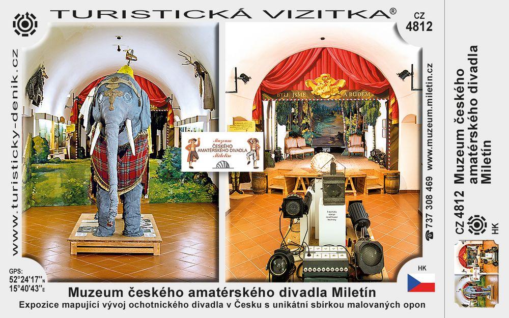 Muzeum českého amatérského divadla Miletín