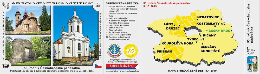 53. ročník Českobrodská padesátka