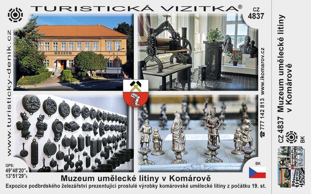 Muzeum umělecké litiny v Komárově