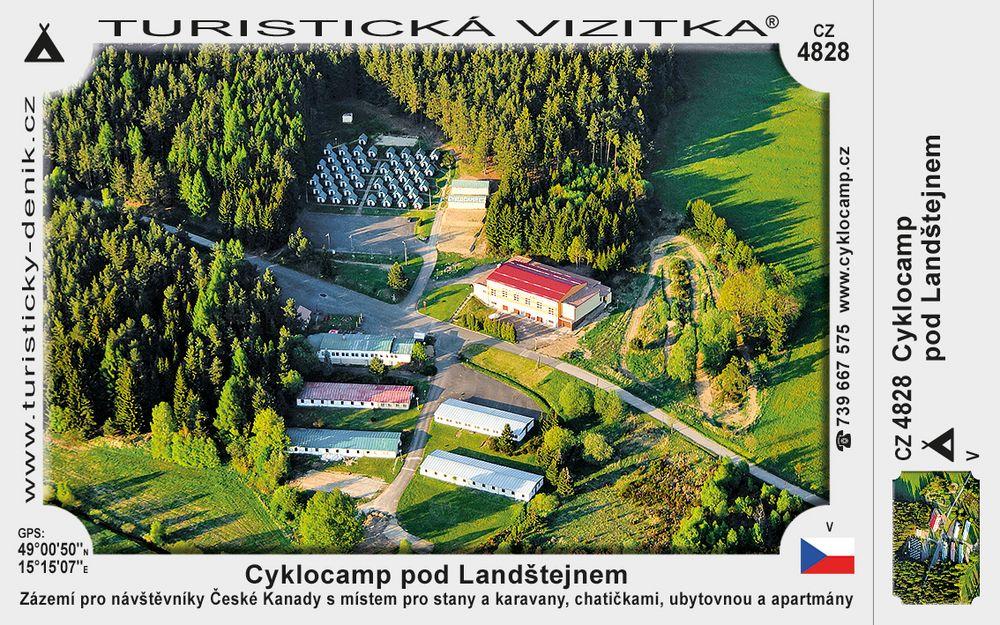 Cyklocamp pod Landštejnem