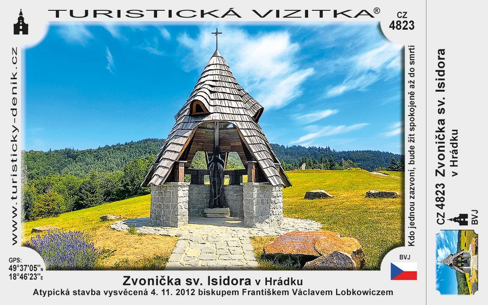 Zvonička sv. Isidora v Hrádku
