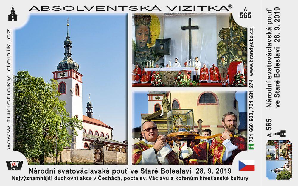 Národní svatováclavská pouť ve Staré Boleslavi  28. 9. 2019