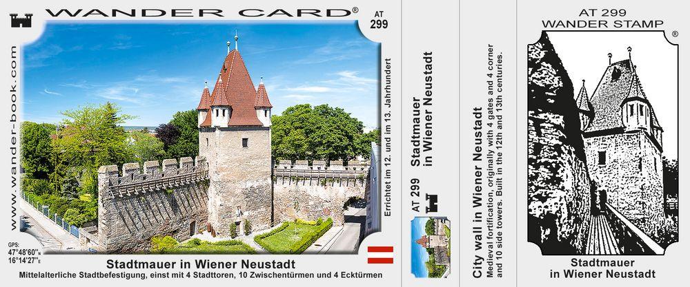 Stadtmauer in Wiener Neustadt