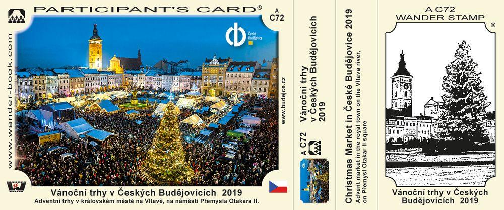 Vánoční trhy v Českých Budějovicích 2019