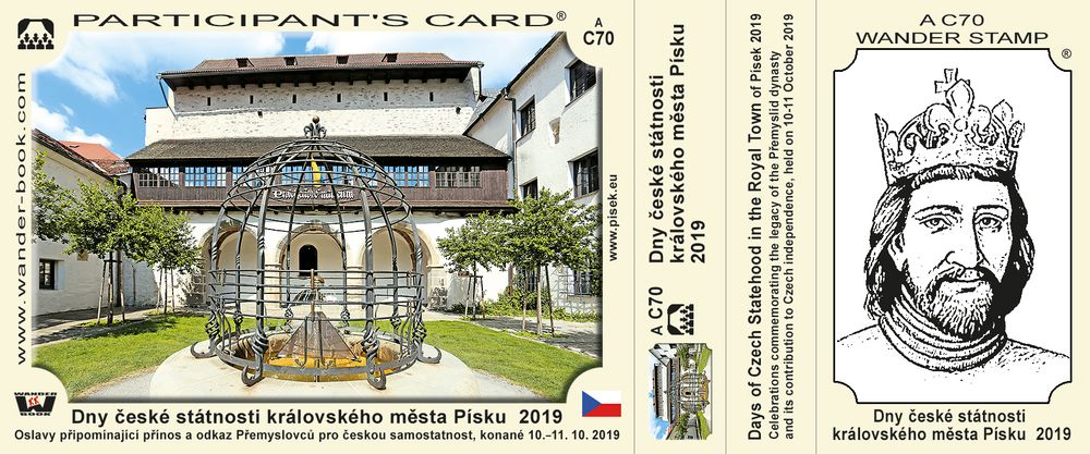 Dny české státnosti královského města Písku 2019