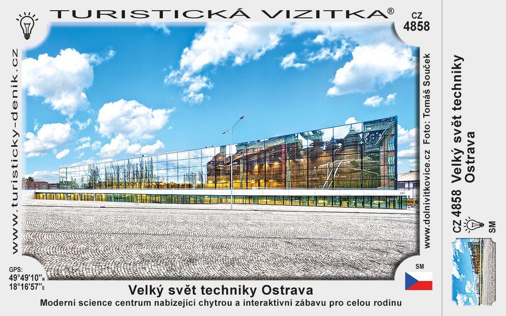 Velký svět techniky Ostrava