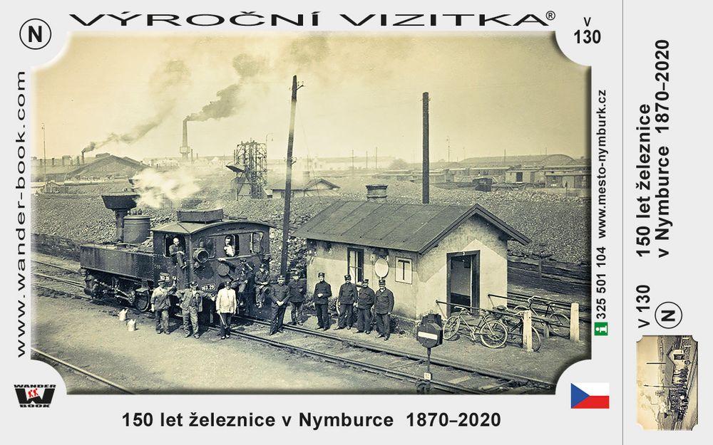 150 let železnice v Nymburce  1870–2020