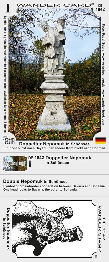 Doppelter Nepomuk in Schönsee