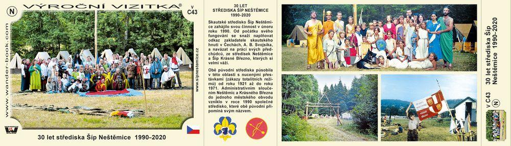 30 let střediska Šíp Neštěmice  1990–2020