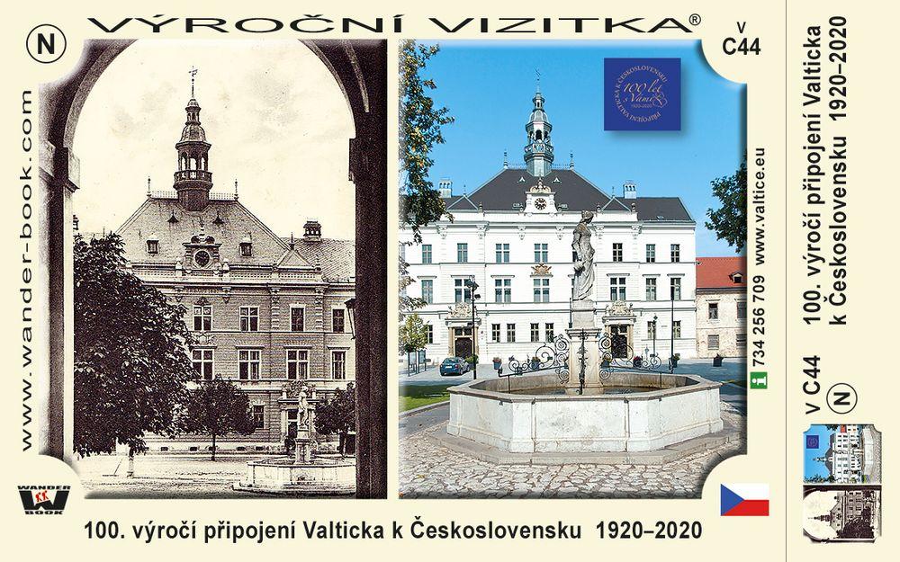 100. výročí připojení Valticka k Československu  1920–2020