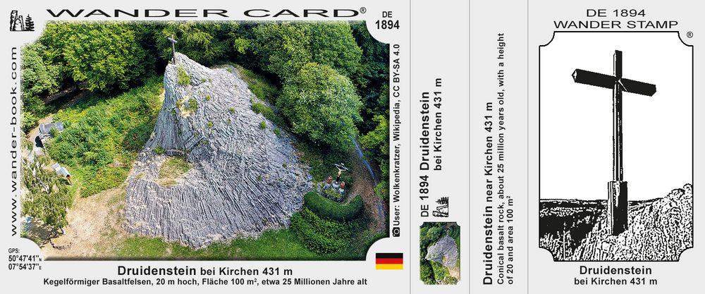 Druidenstein near Kirchen