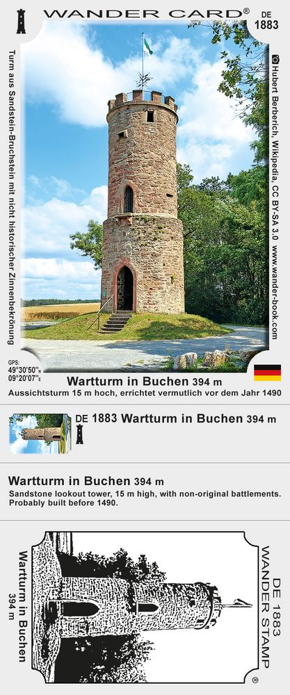 Wartturm in Buchen