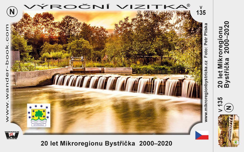 20 let Mikroregionu Bystřička  2000–2020