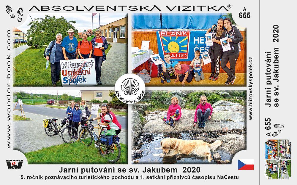 Jarní putování se sv. Jakubem  2020
