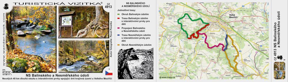 NS Balinského a Nesměřského údolí