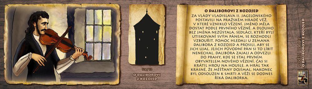 O Daliborovi z Kozojed