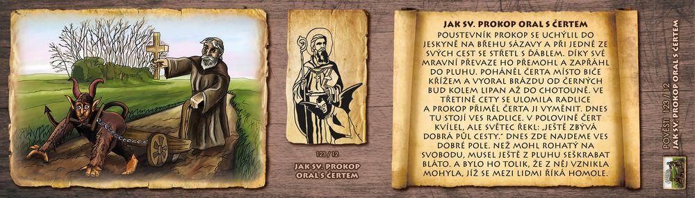 Jak sv. Prokop oral s čertem