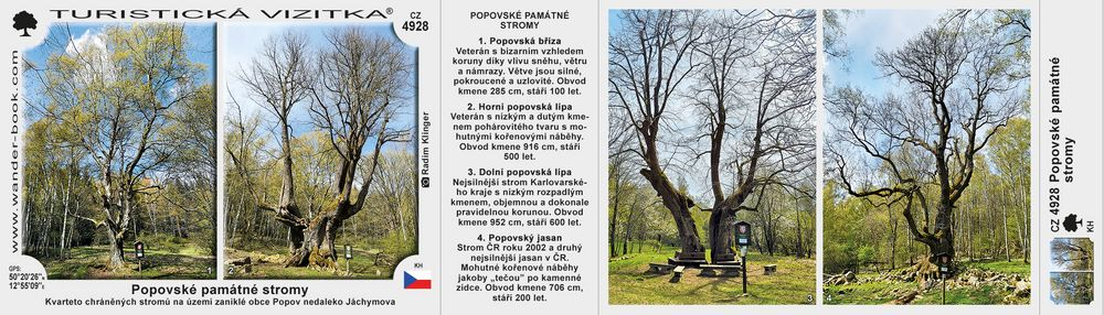 Popovské památné stromy
